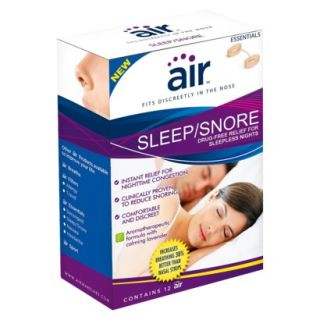 air SLEEP/SNORE   Drug free Snoring Relief and S