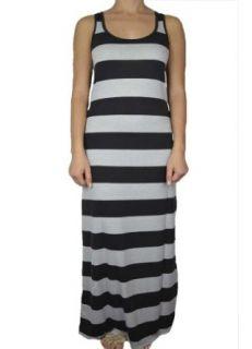 143Fashion Ladies Fashion Striped Long Maxi Dress at  Women�s Clothing store