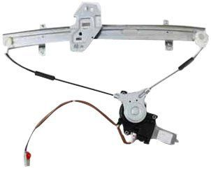 TYC 660061 Honda Accord Front Passenger Side Replacement Power Window Regulator Assembly with Motor Automotive