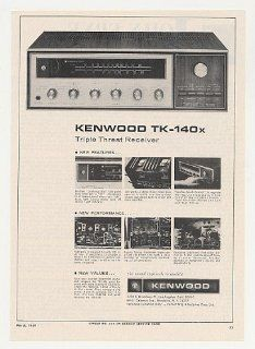 1969 Kenwood TK 140x Stereo Receiver Print Ad