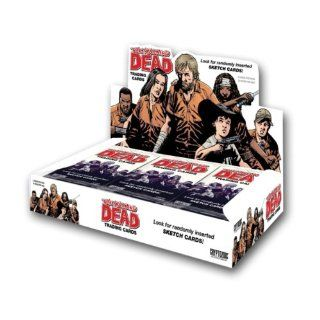 Walking Dead Comic Book Trading Cards (24 Packs) Toys & Games