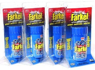 Farkel Dice Game in Shaker _ Bundle of 4 Identical Games: Toys & Games