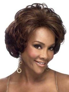 H 129 Human Hair Wig by Vivica Fox  Hair Replacement Wigs  Beauty