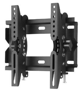 "Duronic TVB123S Heavy Duty Adjustable Black Wall Bracket For Plasma, LCD & LED Screens For 19""   37"" Wide Screens VESA 200, 100   With Tilt down Computers & Accessories"