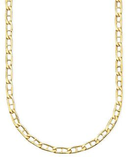 14k Gold Marine Link Necklace   Necklaces   Jewelry & Watches