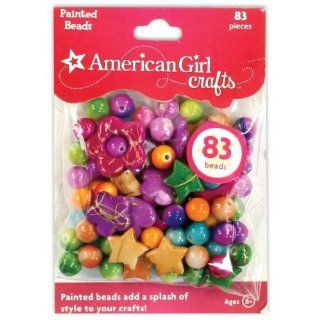 Toy / Game American Girl Crafts Painted 83 Beads Crafting Kit with Picture Prompted, and Instruction Booklet Toys & Games