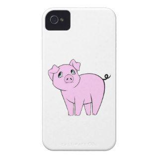 Pequeño guarro lindo (cerdo del bebé)   negro rosa de
