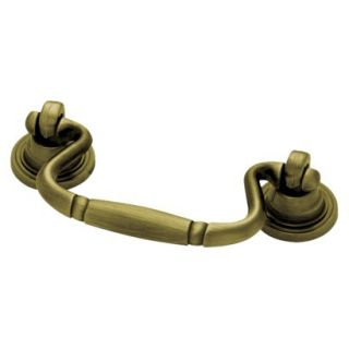 Liberty Hardware 64 mm Bail Pull   Antique Brass