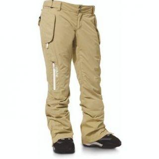Dakine Women's Ashby Pant   Khaki   Medium: Clothing