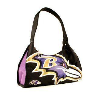Baltimore Ravens Big Logo NFL Team Hobo Purse  Sports Fan Bags  Sports & Outdoors