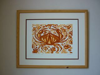 one for the pot crab print by lost and found @ mike jones furniture