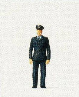 GERMAN FEDERAL POLICE   PREISER HO SCALE MODEL TRAIN FIGURE 28070 Toys & Games