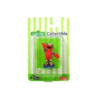 Sesame Street Collectible Elmo Figurine   Roller Blading Toys & Games