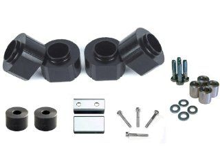 Jeep Grand Cherokee ZJ 93 98 Front and Rear 2 Inch Black Polyurethane Spacer Kit: Automotive