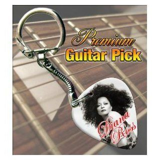 Diana Ross Premium Guitar Pick Keyring Shoes