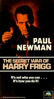 Secret War of Harry Frigg [VHS]: Paul Newman, Sylva Koscina, Andrew Duggan, Tom Bosley, John Williams, Charles Gray, Vito Scotti, Jacques Roux, Werner Peters, James Gregory, Fabrizio Mioni, Johnny Haymer, Russell Metty, Jack Smight, J. Terry Williams, Hal