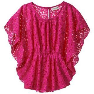 Cherokee Girls 3/4 Sleeve Shirt   So Pink XS