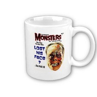 Famous Monster of Filmland Forrest J Ackerman Lon Chaney Magazine Art Inspired. Coffee, Tea, Hot Coco Mug. Includes Pinback Buttons And Gift Box. : Horror Mug : Everything Else