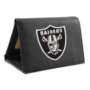 Oakland Raiders Rico Industries Trifold Wallet