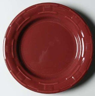 Longaberger Woven Traditions Paprika Luncheon Plate, Fine China Dinnerware: Kitchen & Dining