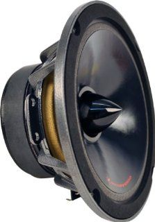 Bass Inferno BIM6FD 6.5 Inch Foam Surround Speaker   1 speaker  Component Vehicle Speaker Systems