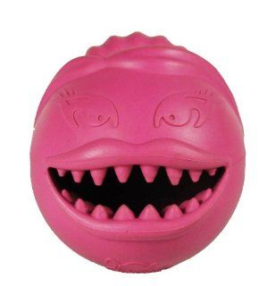 Jolly Pets Monster Girl Dog Toy, 2.5 Inch, Pink : Pet Toy Balls : Pet Supplies