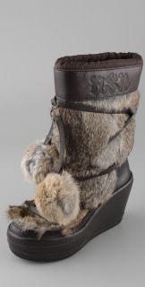 Ash Zubroska Apres Ski Fur Boots