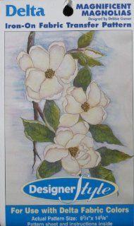 Delta Iron On Fabric Transfer Pattern Magnificent Magnolias