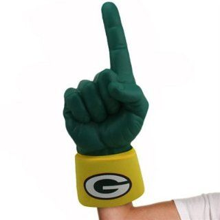 NEW Green Bay Packers #1 Ultimate Fan NFL Foam Hand Finger Officially Licensed by the National Football League  Sports Fan Rally Towels  Sports & Outdoors