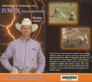Power Team Roping   Heeling with Rickey Green   DVD  Rodeo Equipment  Sports & Outdoors