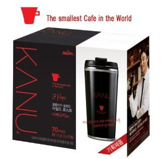 Kanu Columbia Blend Mild Roast Americano with a Tumbler : Instant Coffee : Grocery & Gourmet Food