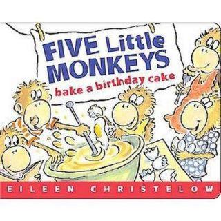 Five Little Monkeys Bake A Birthday Cake (Board)