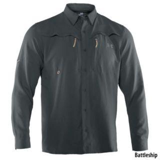 Under Armour Mens Ventilated Long Sleeve Woven Shirt 699708