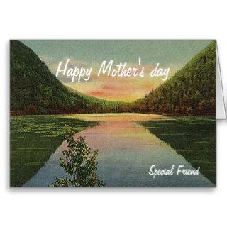 Mothers day greeting cards special friend