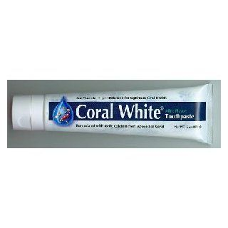 Coral White Ionic Calcium Toothpaste by Coral Inc.   6oz.(FlavorsMint) Health & Personal Care