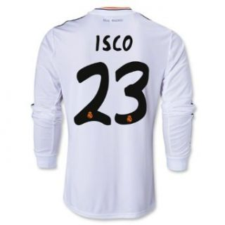 Adidas ISCO #23 Real Madrid Home Jersey 2013 14 Long Sleeve (2X) : Soccer Jerseys : Sports & Outdoors