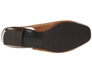Trotters Dea Bronze Metallic Croco Leather