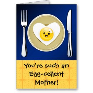 Egg cellent Kawaii Mother's Day Greeting Card