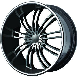 KMC KM682 24 Black Wheel / Rim 6x135 & 6x5.5 with a 35mm Offset and a 100.5 Hub Bore. Partnumber KM68224966335: Automotive