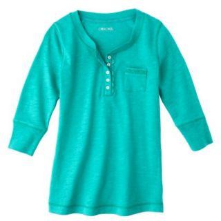 Cherokee®  Girls 3/4 Sleeve Shirt   Assorted