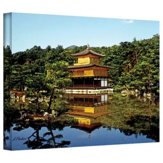 Art Wall Linda Parker Kyotos Golden Pavilion Gallery Wrapped Canvas