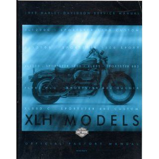 1999 Harley Davidson XLH Sportster Models Service Manual: Official Factory Manual  PN 99484 99: Books
