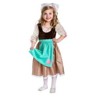Little Adventures Cinderella Day Dress w/ Head Scarf L