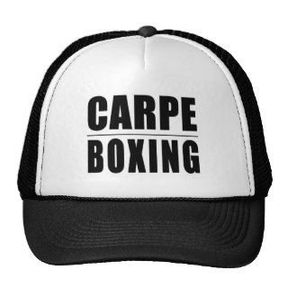Funny Boxers Quotes Jokes : Carpe Boxing Trucker Hats