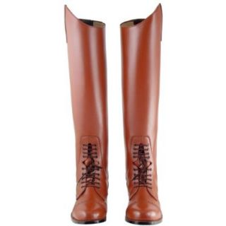 Victory Ladies Field Boots tall english riding TAN All Sizes Available, ColorTan CalfWide, 6.5  Equestrian Body Protectors  Sports & Outdoors