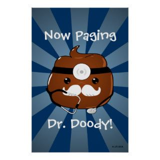 Paging Dr. Doody Poster