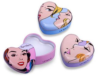 pop heart lip balm by love lammie