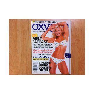 Oxygen Magazine March 2010 (Robert Kennedy's Women's Fitness) Michele Levesque cover, my fave move, 4 instant energy boosters for you!, melt fat fast, the everyday food that keeps you lean: oxygen: Books
