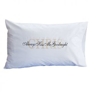 Personal Creations Always Kiss Me Goodnight Pillowcase