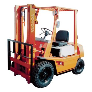MITSUBISHI Reconditioned Forklift — 3 Stage with Side Shift, 6000-lb. Capacity, 1997–2003  Forklifts